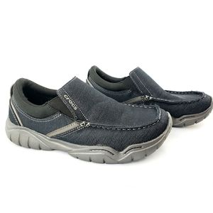 Crocs Swiftwater Casual Slip on Loafer 8 Black
